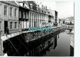 59 - BERGUES - Flandre Maritime - Quai Canal   - PHOTOGRAPHE ROBERT PETIT - ATLAS-PHOTO - Lieux
