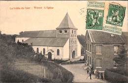 La Vallée Du Geer - Wonck - L'Eglise (animée 1914) - Bassenge