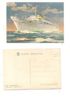 M7461 Navigazione Motonave Africa Lloyd Triestino - Commercio