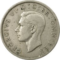 Monnaie, Grande-Bretagne, George VI, 1/2 Crown, 1948, TB+, Copper-nickel, KM:866 - 1902-1971 : Monnaies Post-Victoriennes