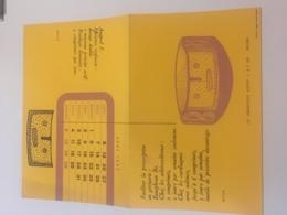 Buvard Pharmaceutique  Anaprel Laboratoires Servier 1962 - Produits Pharmaceutiques