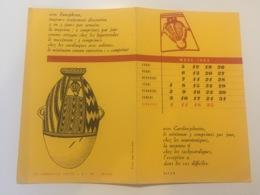 Buvard Pharmaceutique Cardiorythmine / Eunephran Laboratoires Servier 1962 - Produits Pharmaceutiques