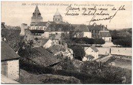 23 BENEVENT-L'ABBAYE - Vue Générale De L'église Et De L'abbaye - Benevent L'Abbaye