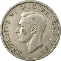 Monnaie, Grande-Bretagne, George VI, 1/2 Crown, 1950, TTB, Copper-nickel, KM:879 - 1902-1971 : Monnaies Post-Victoriennes