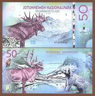 JOTUNHEIMEN National Park (Norway) 50 Kroner 2018 Polymer UNC - Billets