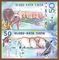 ULUṞU-KATA TJUṮA National Park (Australia) 50 Dollars 2018 Polymer UNC - Billets