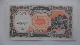 10 PIASTERS  SIG/ Mohie El Deen E LGhareeb  EGYPT (Egypte) (Egitto) (Ägypten) (Egipto) (Egypten) Africa - Egypte