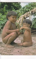 BRASIL NATIVO. CRIANÇAS UAIKA. RIO MARAUIA. ALTO RIO NEGRO, AMAZONAS. MERCATOR. CIRCA 2000s UNCIRCULATED- BLEUP - Amerika