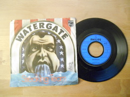 Streaking Team - Watergate - 1974 - 45 Rpm - Maxi-Single