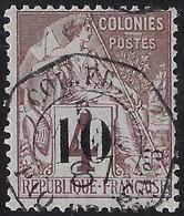 Sénégal N°3 Type I Oblitéré Dateur Paquebot Fr N°3,  Superbe Signé Calves - Sénégal (1887-1944)