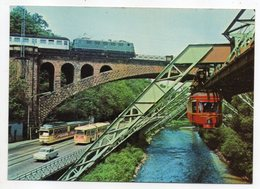 WUPPERTAL -- Train , Autocars , Voiture - Wuppertal