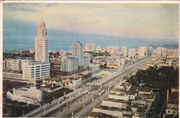 AV GERTULIO VARGAS. RIO  DE JANEIRO. BRASIL. CIRCULEE TO ARGENTINE 1952- BLEUP - Rio De Janeiro