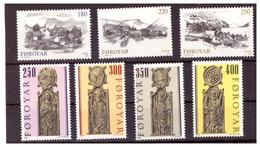 ISOLE FÆR ØER - 1982 E 1984 - DUE SERIE COMPLETE. - MNH** - Isole Faroer