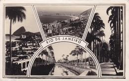 RIO DE JANEIRO, MULTI VISTA VIEW VUE. VOYAGE CIRCA 1940s- BLEUP - Rio De Janeiro