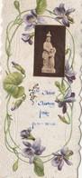 Image Religieuse Ste Anne D'Auray Priez Pour Nous (papier Gauffré) - Devotion Images