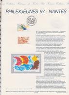 1ER JOUR  FEUILLET DOCUMENT PHILATELIQUE 97 533 PHILEXJEUNES NANTES - Documents De La Poste