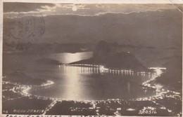 PAO DE AÇUCAR E BOTAFOGO, RIO DE JANEIRO. BRASIL. CIRCULEE URUGUAY 1925- BLEUP - Rio De Janeiro