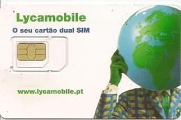 Lycamobile Mini/Micro/Nano SIM Card - Portugal - Portugal