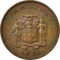 Monnaie, Jamaica, Elizabeth II, Cent, 1971, Franklin Mint, TTB, Bronze, KM:45 - Jamaique