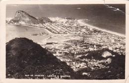 RIO DE JANEIRO,LEBLON E IPANEMA. WESSEL. CIRCULEE ARGENTINE 1955- BLEUP - Rio De Janeiro
