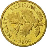 Monnaie, Croatie, 5 Lipa, 2009, TTB, Brass Plated Steel, KM:5 - Croatia