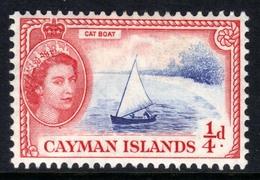Cayman Islands 1953 - 62 QE2 1/4d Cat Boat MM SG 148 ( R16 ) - Cayman Islands