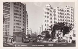 SAO PAULO. AVENIDA APIRANGA. FOTO COLOMBO. BRASIL. CIRCA 1930s NON CIRCULEE- BLEUP - São Paulo