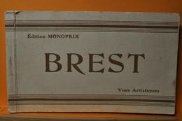 Brest - Carnet Complet 24 Cpa - Brest - Brest