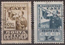 Russia 1929 Mi 363-364 Used - 1923-1991 URSS