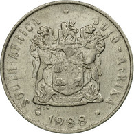 Monnaie, Afrique Du Sud, 10 Cents, 1988, TB+, Nickel, KM:85 - Afrique Du Sud