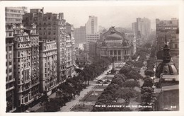 RIO DE JANEIRO. AV RIO BRANCO. BRASIL. CIRCA 1930s NON CIRCULEE- BLEUP - Rio De Janeiro