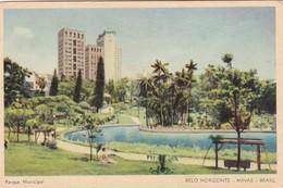 BELO HORIZONTE, MINAS, PARQUE MUNICIPAL. ALBUQUERQUE. BRASIL. CIRCA 1950s NON CIRCULEE- BLEUP - Belo Horizonte