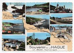 LA HAGUE -- Souvenir De La Hague -- Multivues --La Route Touristique - Altri Comuni