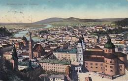 AK Salzburg Von Der Festung - 1916 (37481) - Salzburg Stadt
