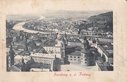 AK Salzburg Von Der Festung - 1900 (37482) - Salzburg Stadt
