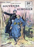 """Collection """"Patrie"""". Rouff. Guerre 1914-1918. N° 123 Souvenirs D'un Aumonier - War 1914-18"""