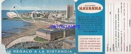 102591 ARGENTINA PUBLICITY COMMERCIAL ALFAJORES HAVANNA DAMAGED NO POSTAL POSTCARD - Chocolat