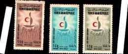 73243) REPUBLIC NORTH YEMEN 1963 - CENTENARIO DELLA CROCE ROSSA - B. 1/3 - MlH - Yemen