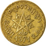 Monnaie, Maroc, Mohammed V, 10 Francs, 1951, Paris, TB+, Aluminum-Bronze, KM:49 - Maroc
