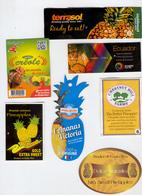 Etiquettes De Fruits : Ananas Lot 21 - Fruit Labels Pineapple Lot #21 - Fruits Et Légumes