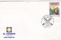 150°ANIVERSARIO DE MOBI DICK FDC CORREOS DEL URUGUAY 2001- BLEUP - Uruguay
