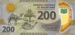 Mauretanien Mauritanie Mauritania 2017 New 200 UM Polymer UNC - Mauritanie