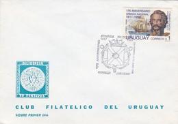 175 ANIVERSARIO ARMADA NACIONAL-FDC CORREOS DEL URUGUAY 1998- BLEUP - Uruguay