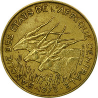 Monnaie, États De L'Afrique Centrale, 10 Francs, 1975, Paris, TB+ - Central African Republic