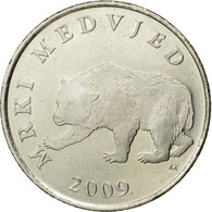 Monnaie, Croatie, 5 Kuna, 2009, TTB, Copper-Nickel-Zinc, KM:11 - Croatie