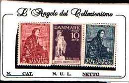 73245) DANIMARCA-1938-B. THORVLDSEN-SERIE COMPLETA N,265-67- MNH** - Yemen