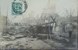 O) 1901 JAMAICA, POSTAL  CARD  DESTRUCTION- STAMP ARMS OF JAMAICA SC. 58 1/2p Green. XF - Postcards