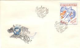 CSR+ Tschechoslowakei 1976 Mi 2335 2336-38 KSZE, Landwirtschaft - Covers & Documents