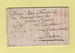 St Omer - 61 - Pas De Calais - Port Paye - 1822 - Destination Londres - 1801-1848: Vorläufer XIX