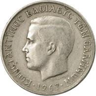 Monnaie, Grèce, Constantine II, Drachma, 1967, TB+, Copper-nickel, KM:89 - Grèce